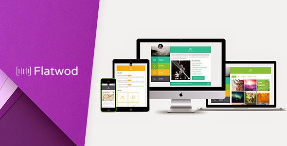 Flat vCard Muse Template
