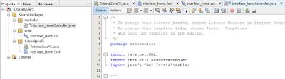 Cara Membuat Interface Aplikasi Pada JavaFx 5