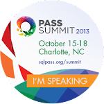 PASS Summit 2013 Charlotte, NC