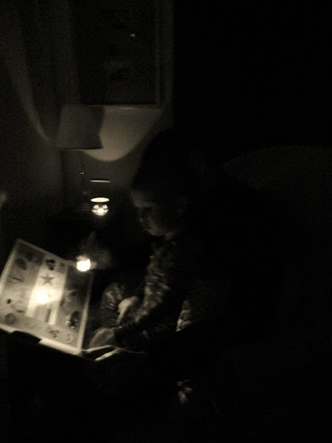 Reading during power outage