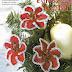 Flor estrella de Navidad con petalos en espiral