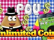 Download POU Mod Apk v1.4.73 Unlimited Money Coins Update terbaru 2017