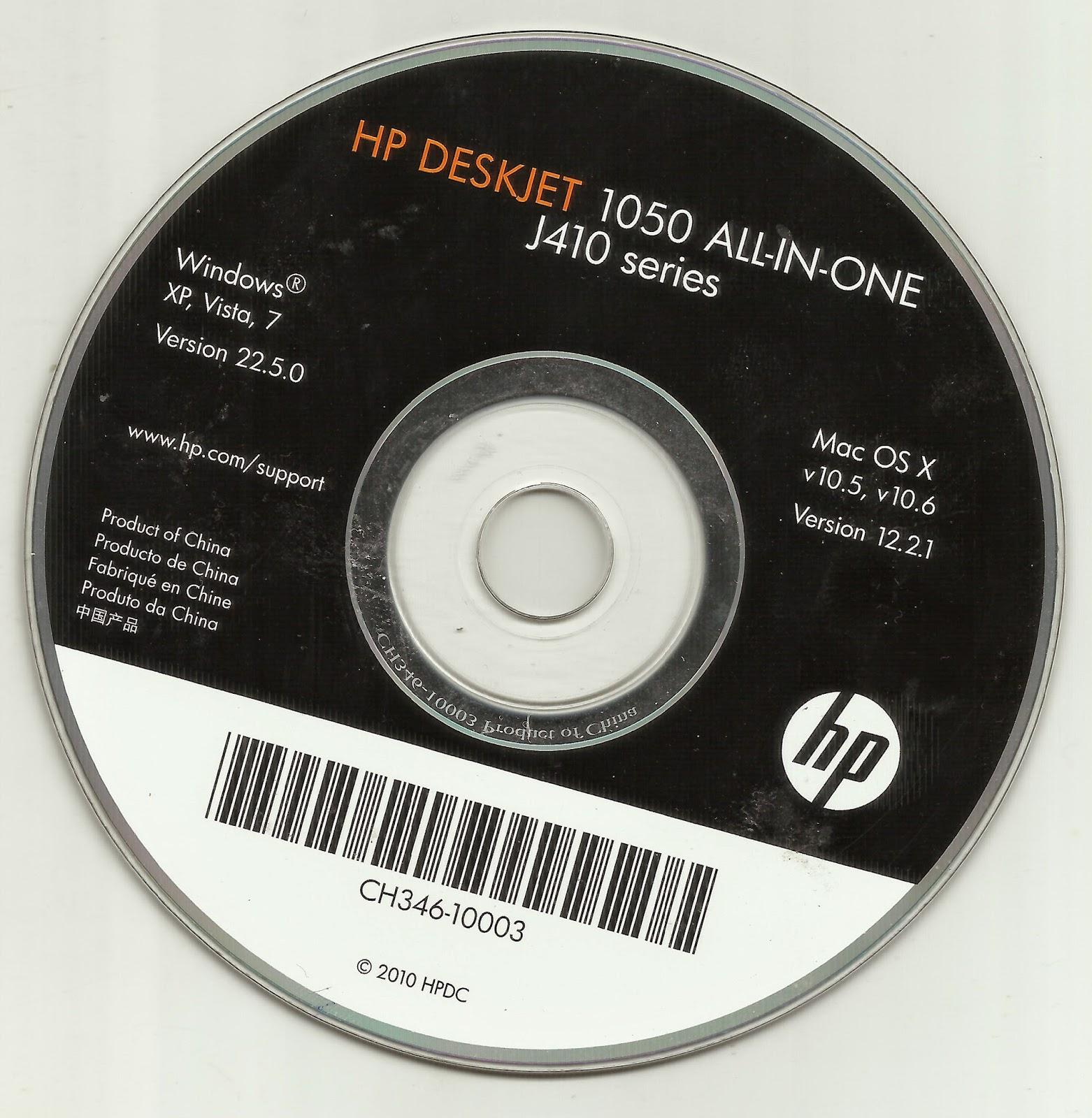 Deskjet 1050 j410 driver mac.