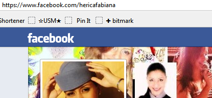 Perfil no Facebook