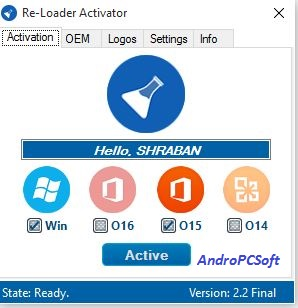 Re-Loader Activator 2.2 Latest Microsoft Windows OS And Office Package Activator - AndroPCSoft - A Brand New Technology Blog
