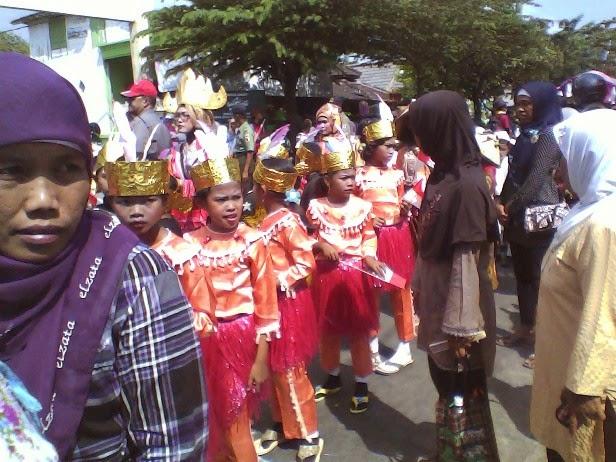 Pawai Karnaval Budaya SDN Saringembat I Singgahan Tuban