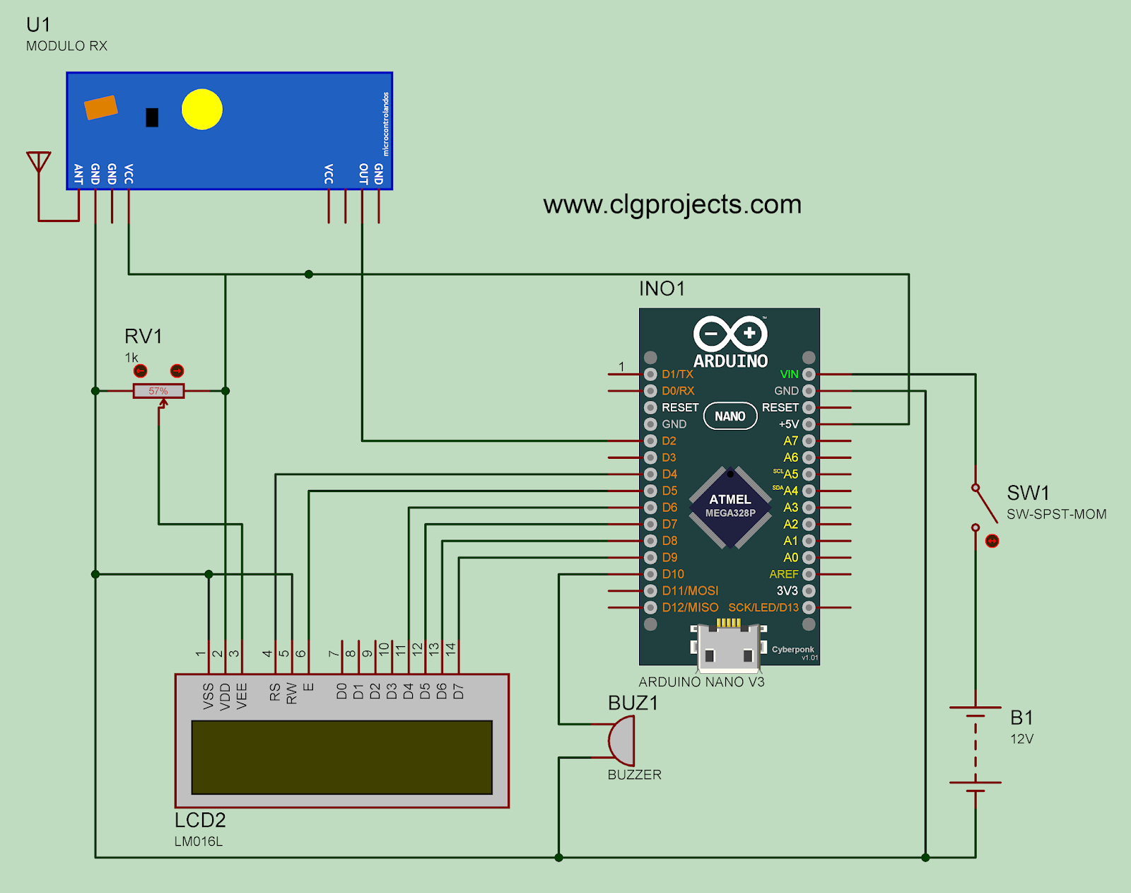 hight resolution of ultrasonic water level indicator wireless water level indicator six level wireless water level indicator circuit diagram
