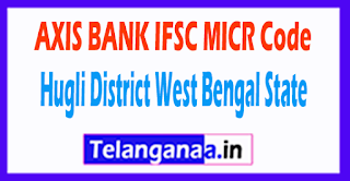 AXIS BANK IFSC MICR Code Hugli District West Bengal State