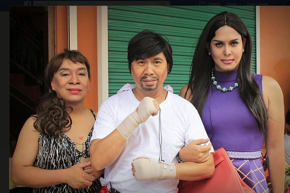 Eat Bulaga's JoWaPao transforms into Manny, Mommy D and Jinkee