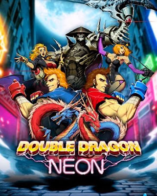 Cover Of Double Dragon Neon Full Latest Version PC Game Free Download Mediafire Links At worldfree4u.com