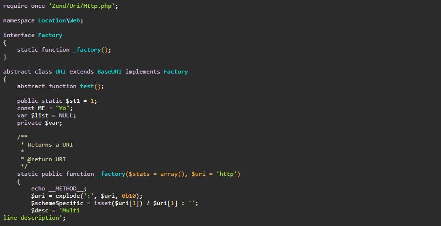 syntax highlighter seperti sublime text, yang bisa di rubah warna scriptnya