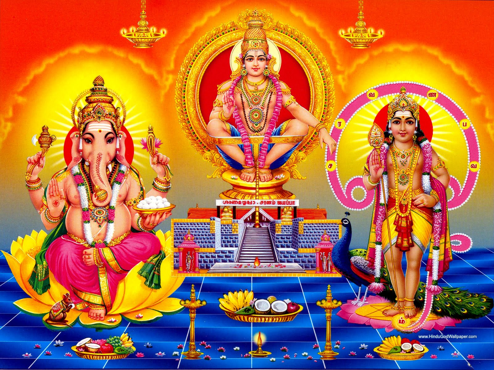 Ayyappa Swamy HD Wallpapers And Images