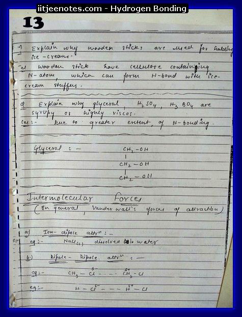 hydrogen bonding chemistry3