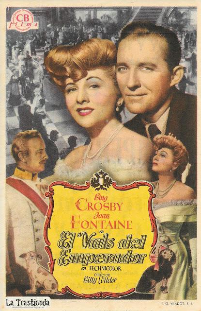El Vals del Emperador - Programa de Cine - Bing Crosby - Joan Fontaine