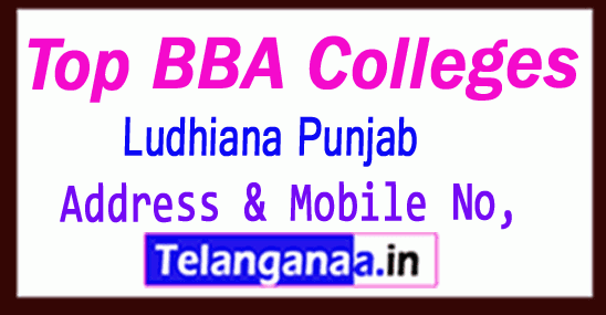 Top BBA Colleges in Ludhiana Punjab