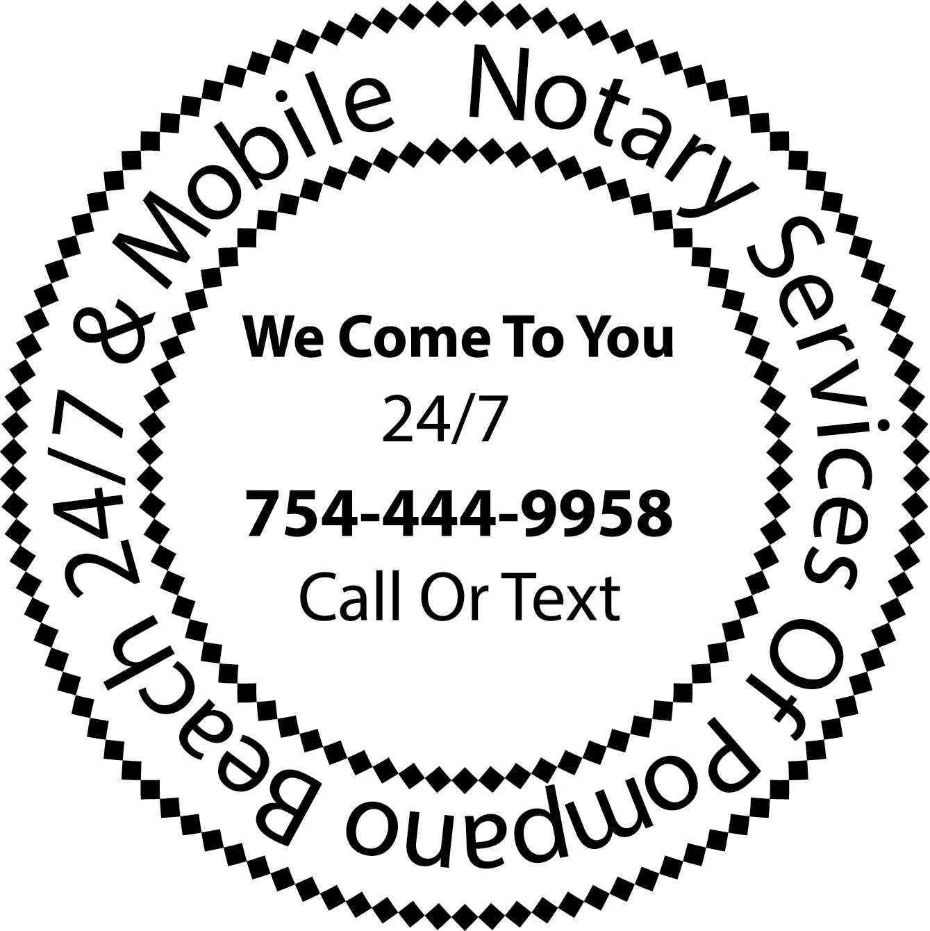 Do You Need A 10 Notary Stamp Or A Mobile Notary Service Notary