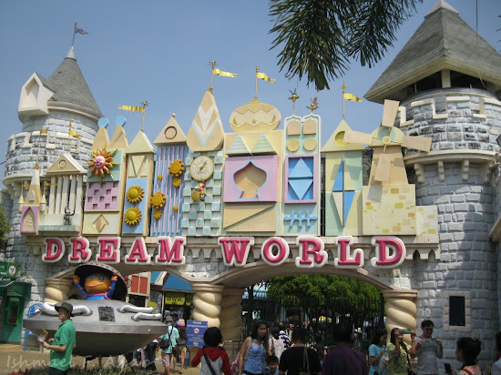 Entrance to Dreamworld Bangkok