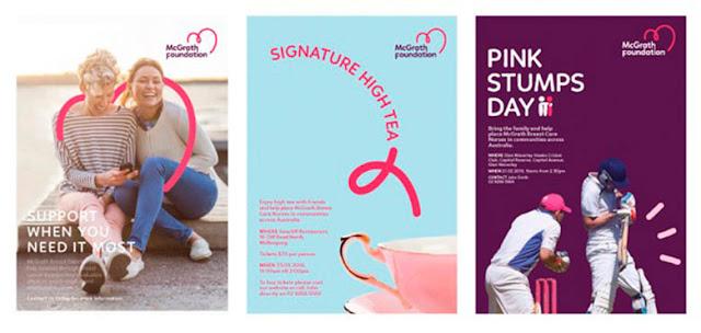 Fundación McGrath que lucha contra el cáncer de mama revela su nueva identidad