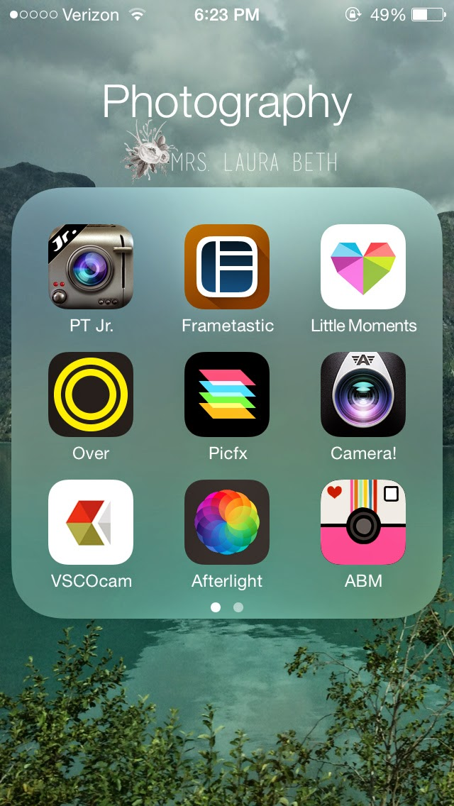 Mrs  Laura Beth: Editing Apps for Instagram