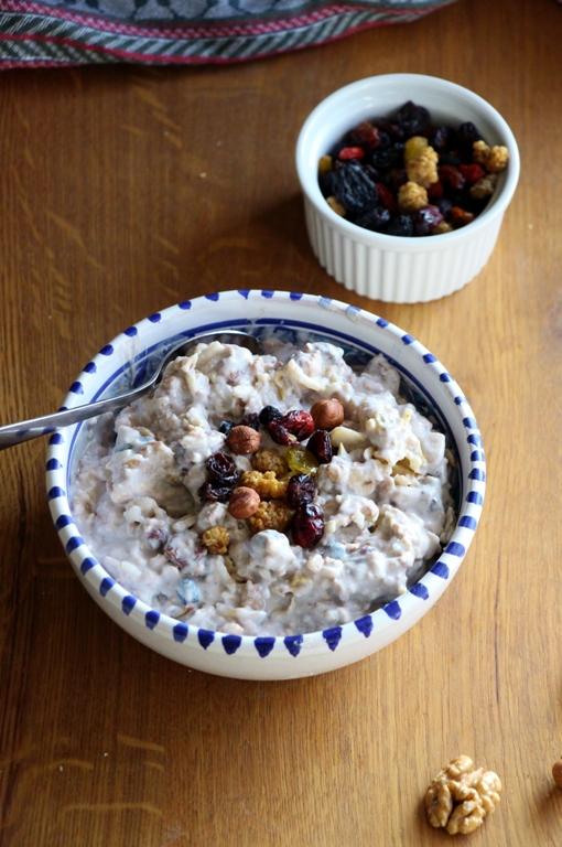 Veganes und glutenfreies Birchermüsli