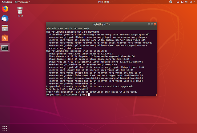 Ubuntu 18.04.2 LTS hardware enablement stack