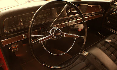 1966 Chevrolet Caprice Coupe Interior Steering Wheel
