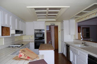 covered kitchen soffit lighting