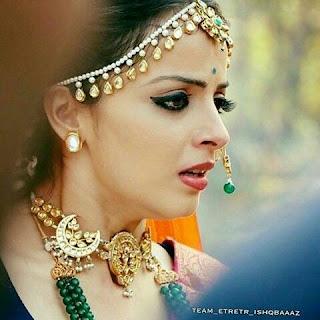 shqbaaz Jewellery Trends by Anika & Gauri, Matha Patti from Ishqbaaz, Matha patti from ishqbaaz by gauri, gauri matha patti in ishqbaaz, ishqbaaz matha patti style, shernu parikh jewellery