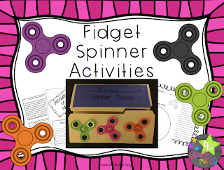 Fidget Spinner Activities