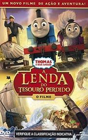 Filme Thomas e Seus Amigos A Lenda do Tesouro Perdido O Filme