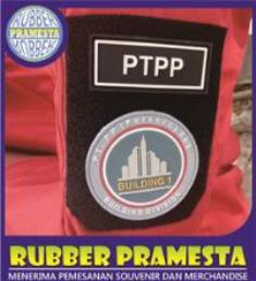 PATCH RUBBER TOPI | PATCH RUBBER JAKET | PATCH RUBBER PAPAN NAMA |