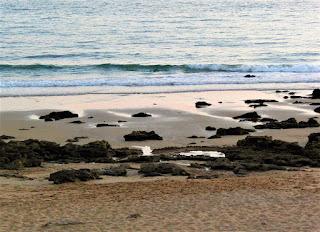 Playa, mar, rocas