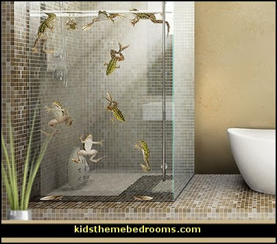 Frog Bathroom Decor