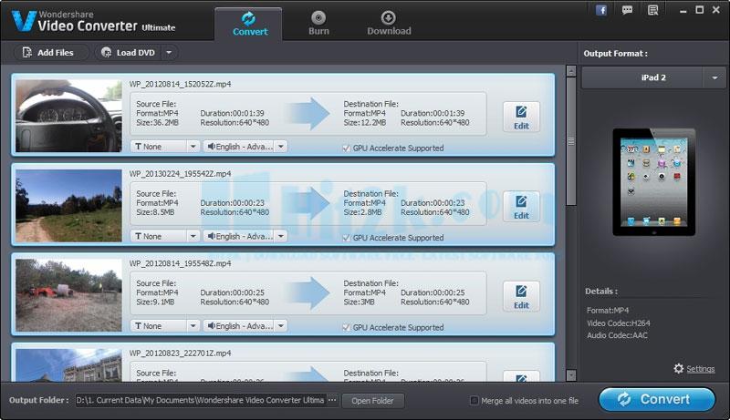 Download Wondershare Video Converter Ultimate 8 8.7.0 Crack Free