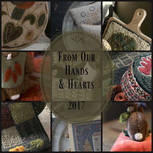 From Our Hands & Hearts ~ Spring Creative Retreat!