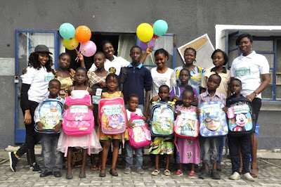 MMM is back, partners with Isio Kids Project to excite Port-Harcourt pupils (Photo)