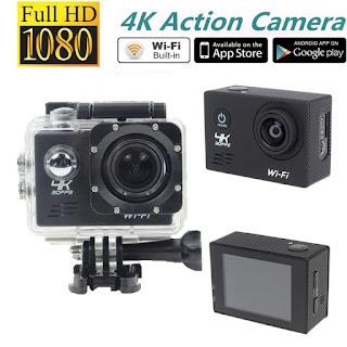 action cam wifi 4 k on tenckk