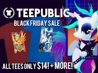 BLACK FRIDAY DEAL: All MLP Shirts Now Only $14 (Brand New Designs)