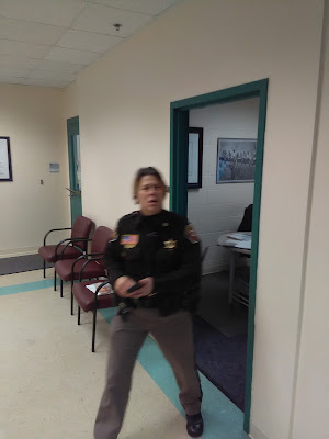 Huber Officer Mary K. Reel of the Manitowoc County Sheriff's Department