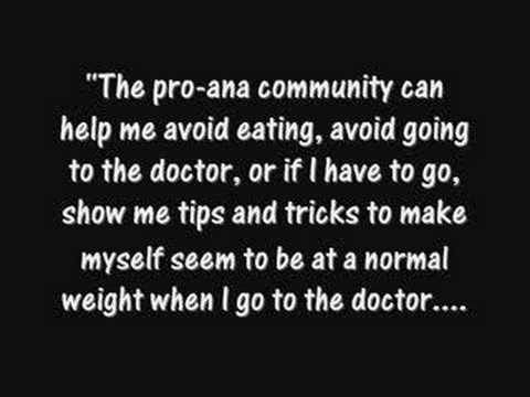 Paradigm Malibu: Educate Yourself About Pro-Ana and Pro ...
