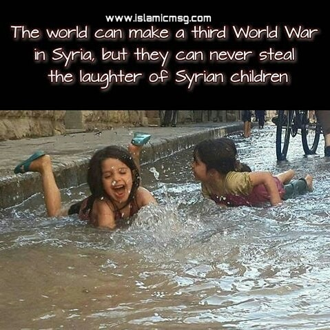 syrian child happiness