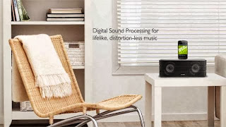 the sensational sound quality of the AS860 docking speaker