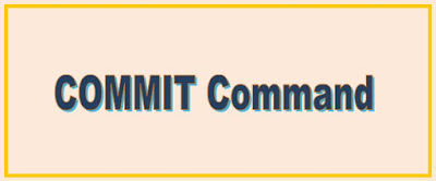 Commit | Commit In SQL Server | TCL Command