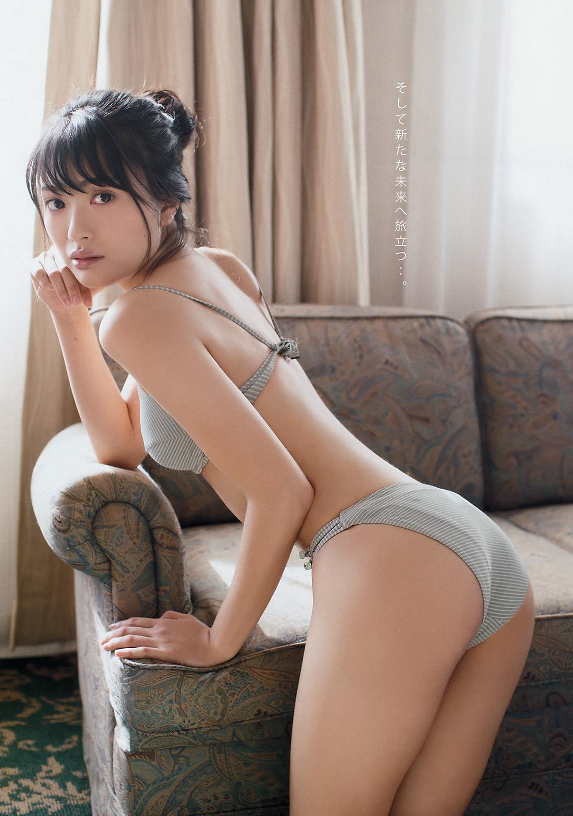 Kitahara Rie 北原里英, Young Magazine 2018 No.12 (週刊ヤングマガジン 2018年12号)
