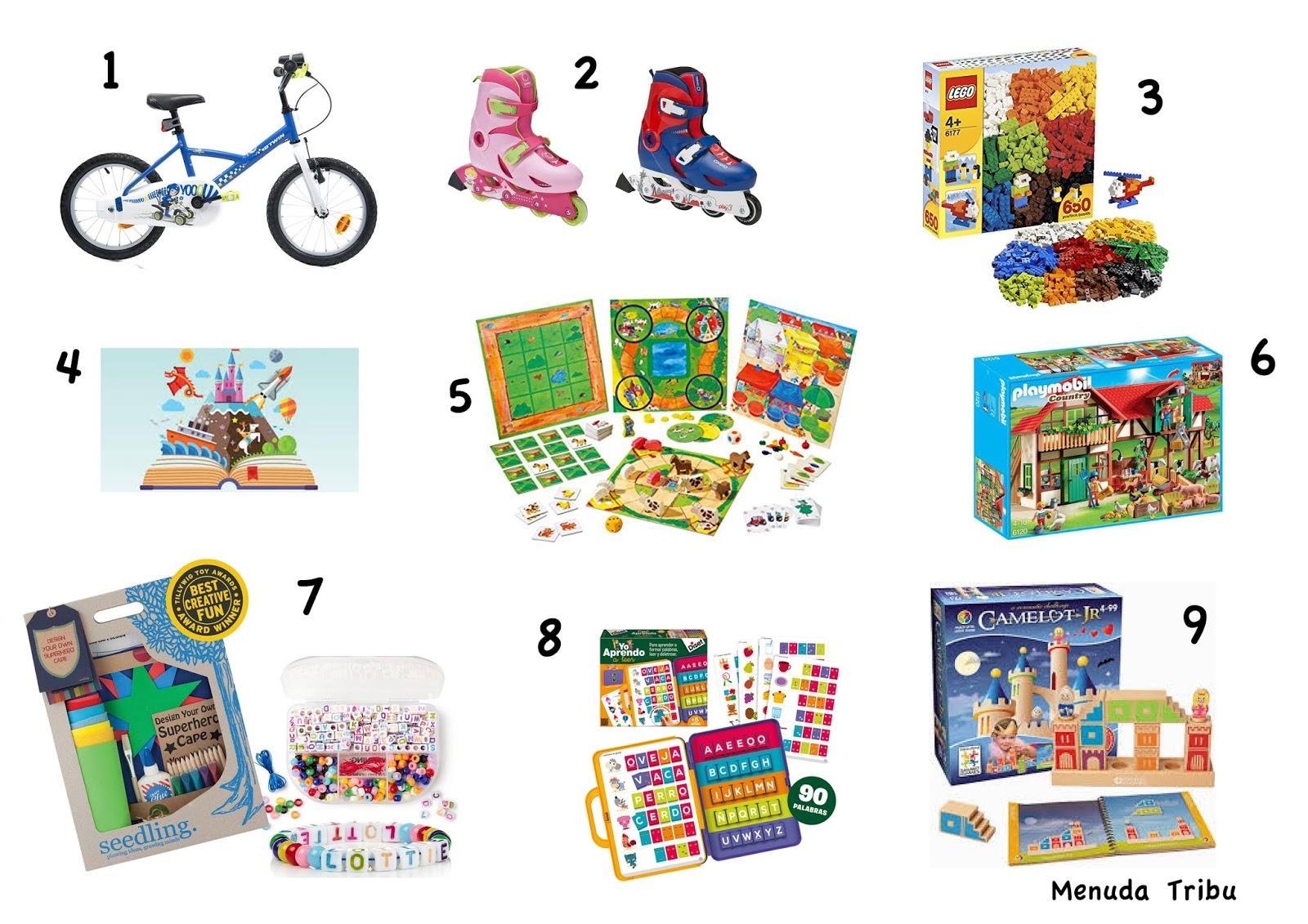 Menuda tribu ideas de juguetes para ni os de 4 5 a os - Juguetes para ninos de 3 a 4 anos ...