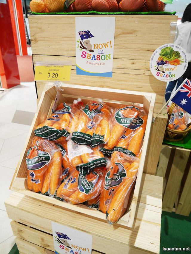 Deliciously healthy, carrots