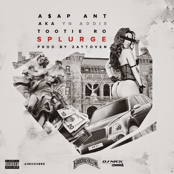 A$AP Ant & Tootie Ro - Splurge - Single Cover