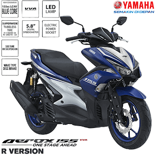 Kredit Motor Yamaha Aerox 155 VVA R Version