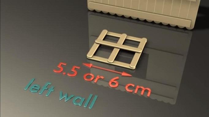 Cara Membuat Miniatur Rumah Dari Stik Es Krim Bekas Pakai