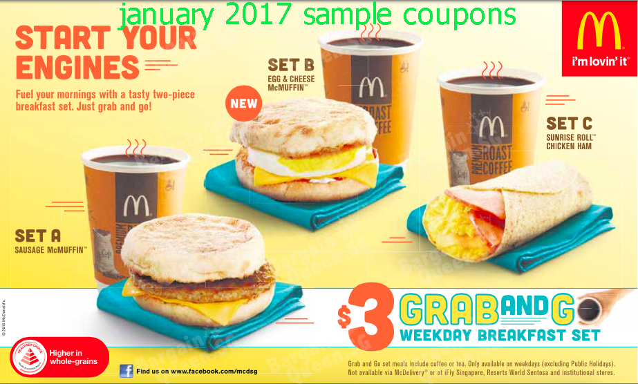 Mcdonalds mailer coupons february 2019